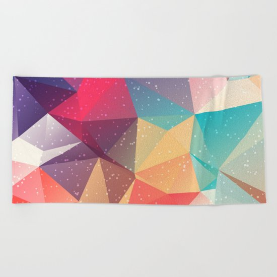 Geometric pattern Beach Towel