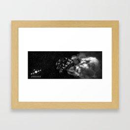 robot hand Framed Art Print