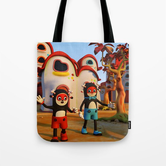 Goodbye Matatoon town Tote Bag