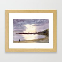 Cove Framed Art Print