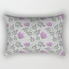 Liana purple flowers . Rectangular Pillow