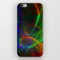 lightning iPhone & iPod Skins featuring lightning by donphil