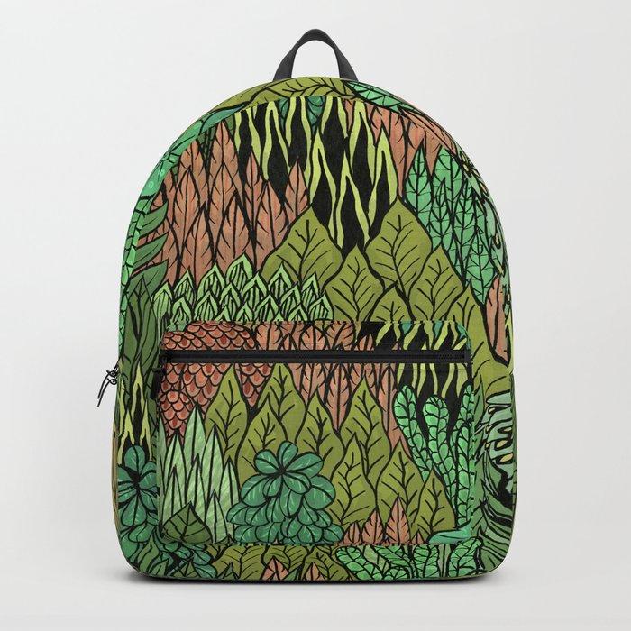 April Leaves Backpack