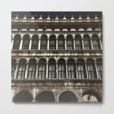 Facade on Piazza San Marco Metal Print