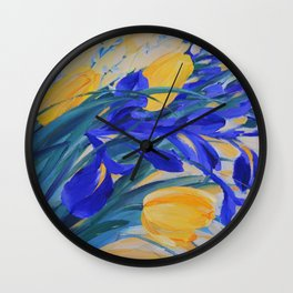 ABOUT SPRING Wall Clock