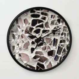 Shattered to Pieces Wall Clock