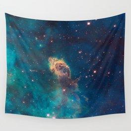 Stellar Jet in the Carina Nebula Wall Tapestry