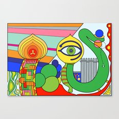 somedays i look (Joe Pansa/Freshinkstain) Canvas Print