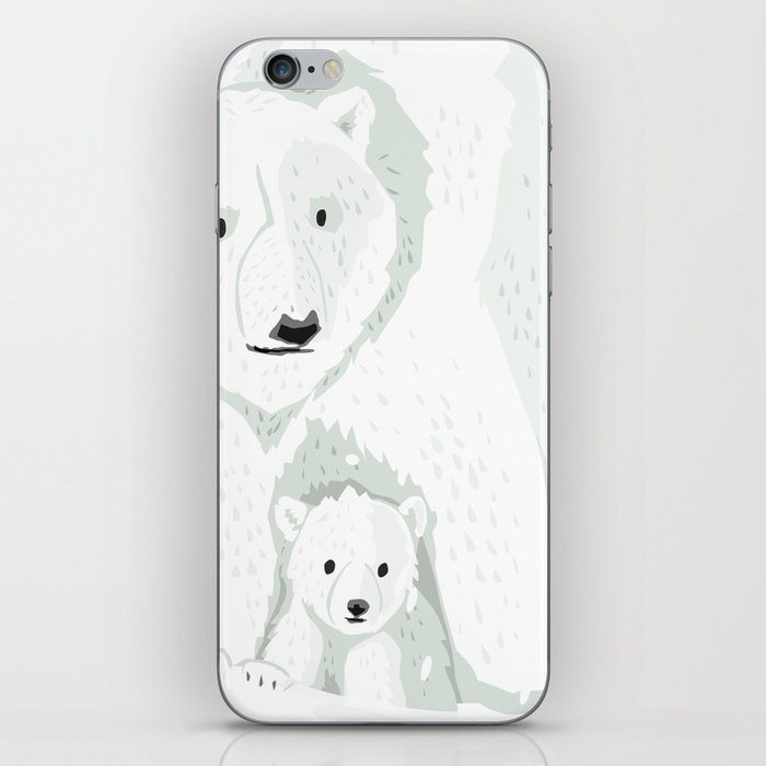 The White Bears and the Tin Soldier iPhone Skin