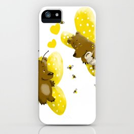 Butebearfly Love iPhone Case