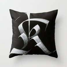 Capital K Throw Pillow