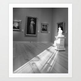 Affection of Light Art Print