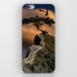 mystic tree iPhone Skin