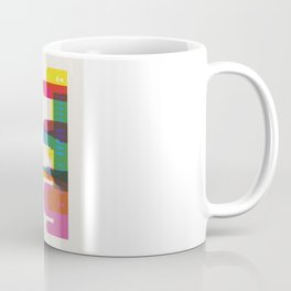 Shapes of Berlin accurate to scale Coffee Mug