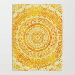 Sun Mandala 4 Poster
