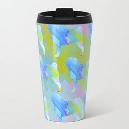 Pugs Pattern Travel Mug