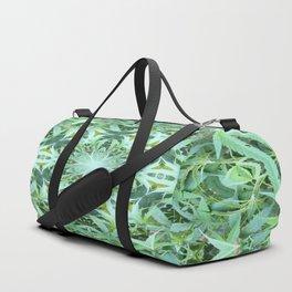 Mary Jane Mandala 2 (green) Duffle Bag