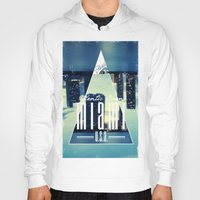 miami Hoodies featuring MIAMI by Kami