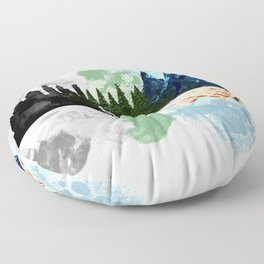 Go to The Mountains Floor Pillow