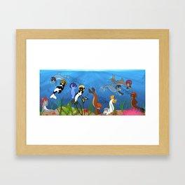 Free Eternal Summer Pony All together Framed Art Print