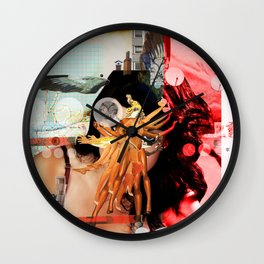 Wild Mountain · Great Balls Of Fire · Detail Variation 2 Wall Clock