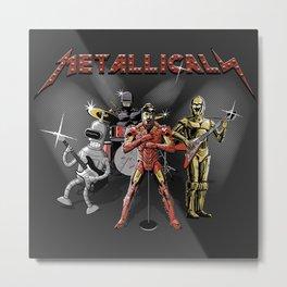 Metallicals (Colaboration between Faniseto & Fuacka) Metal Print
