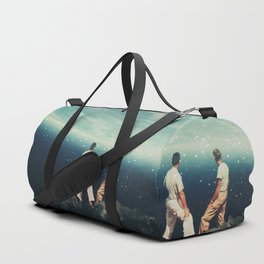 The Earth was crying and We were there Duffle Bag