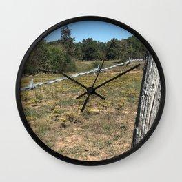 Western Field Wall Clock