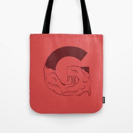 G Illustrated Tote Bag