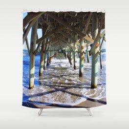 Under the Boardwalk Shower Curtain