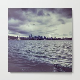 the emerald city. Metal Print