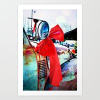 Christmas In Taos, New Mexico Art Print
