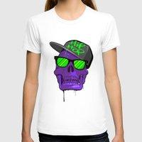 hip hop T-shirts featuring Hip Hop 4 life by Mike Karolos
