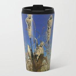 Human cornfield /Maizal humano Travel Mug