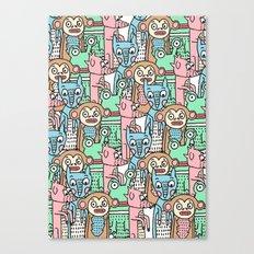 FUNNY ANIMALS Canvas Print