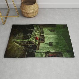 Archi W Bechlenberg - The artists kitchen Rug