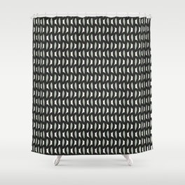 geo six-celadon Shower Curtain