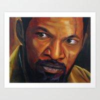 django Art Prints featuring Django by DavyR