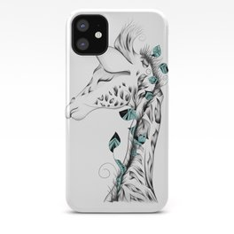 Poetic Giraffe iPhone Case