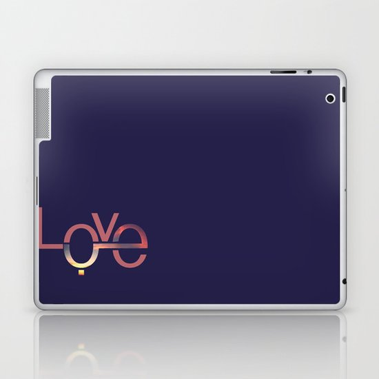 Love in English and Arabic Laptop & iPad Skin