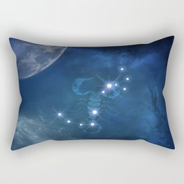 Zodiac sings scorpio Rectangular Pillow