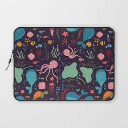 Sea creatures 001 Laptop Sleeve