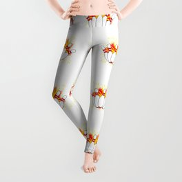 Ten Pin Comic Blast Leggings