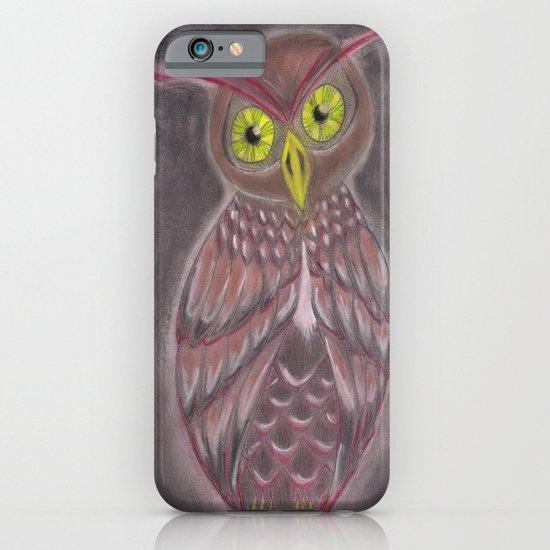Stylized Owl iPhone & iPod Case
