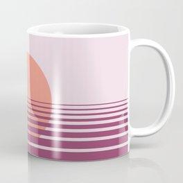 Pink sunset print - Girls Gang Prints Coffee Mug