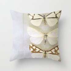 Moth Wings Throw Pillow