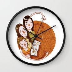 Charmed (alphabet series TV) Wall Clock