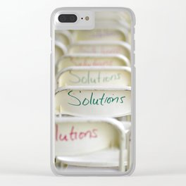 NYC4 Solutions Clear iPhone Case