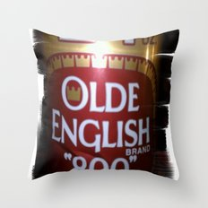 more beer Throw Pillow