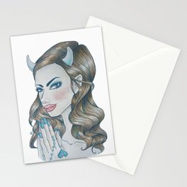 Blue Devil (Rule 4) Stationery Cards